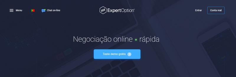 expertoption_negociação_online _rápida