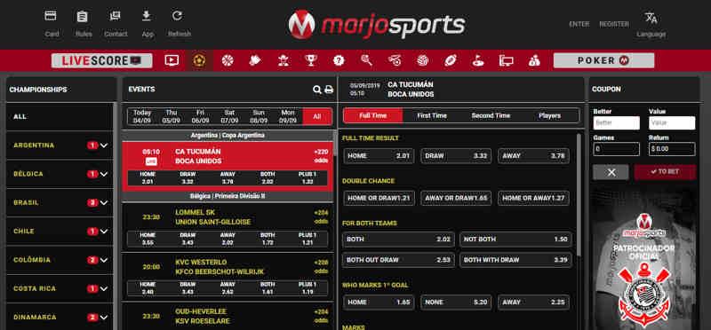 marjosports_página_inicial