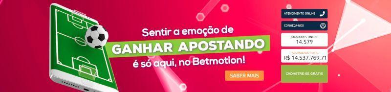 Betmotion possui aplicativo para celular