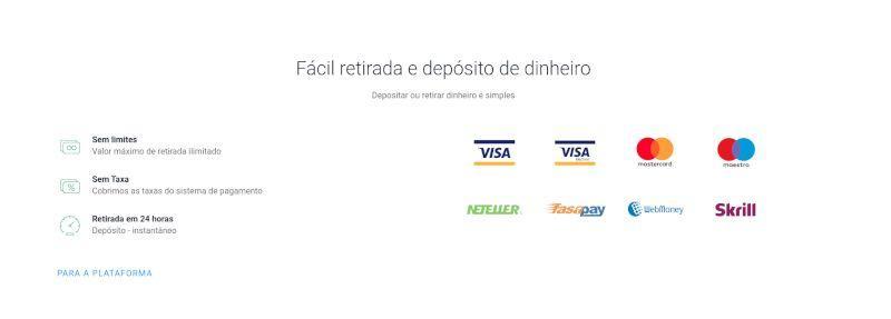 Olymp Trade banking