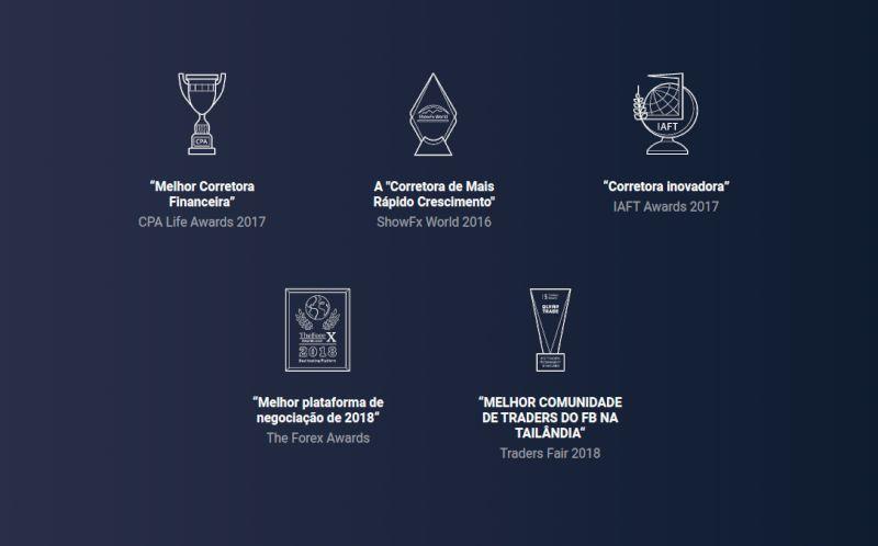 Olymp Trade premios