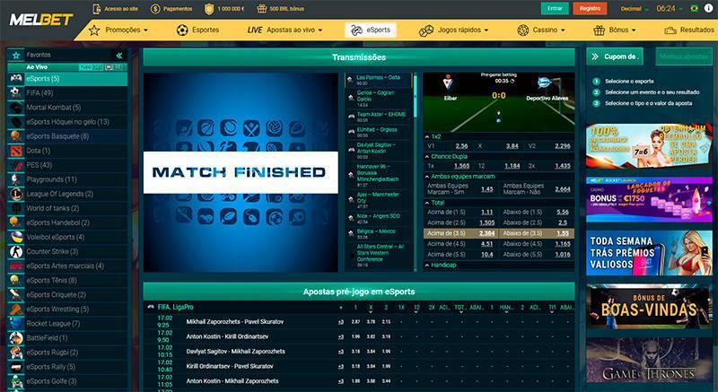 Melbet eSports