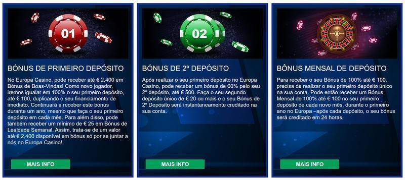 Europa Casino Bônus