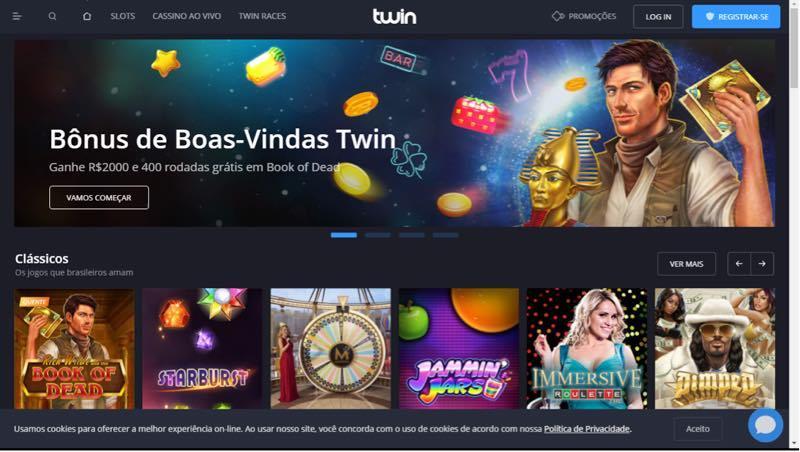 Twin casino - registrar-se